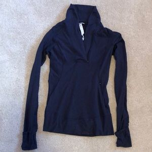 Lululemon Quarter Zip Sweatshirt.